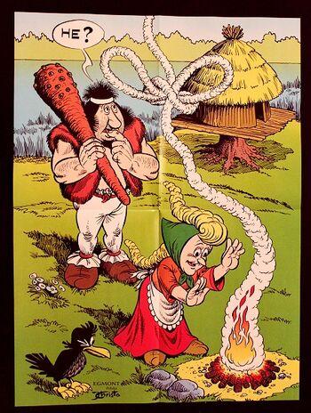 Kajko i Kokosz gra mirmiłowo wielkie plakat Christa