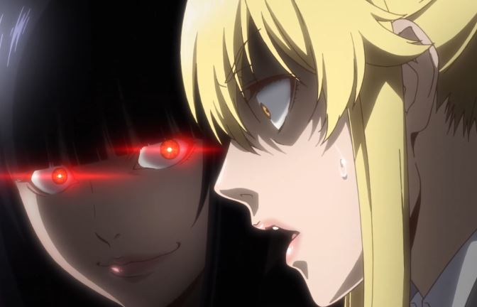people gambling anime possessed