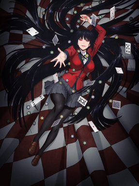 Kakegurui Anime Cover-2