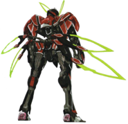 Valvrave 1 Active - Rear