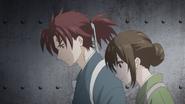 Akatsuki and Aoi Into the Basement ep12