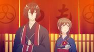 Odanna and Aoi leaving geisha house ep03