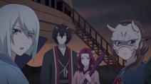 Oryō, Ōdanna, Suzuran & Aoi ep3