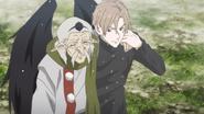 Younger Shirō and Matsuba