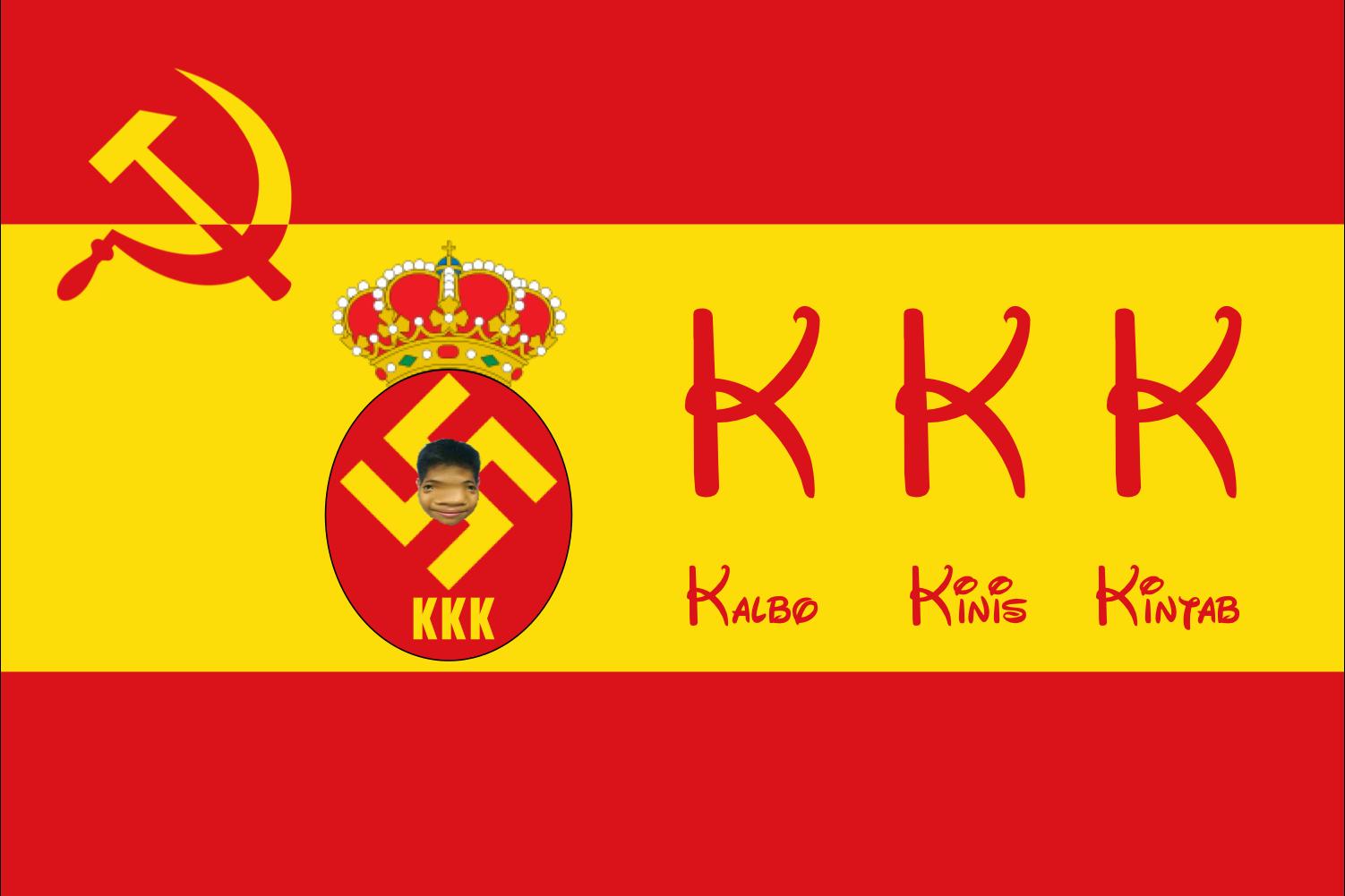 Flag Of Kkk Kalbo Kinis Kintab Wiki Fandom Powered By Wikia