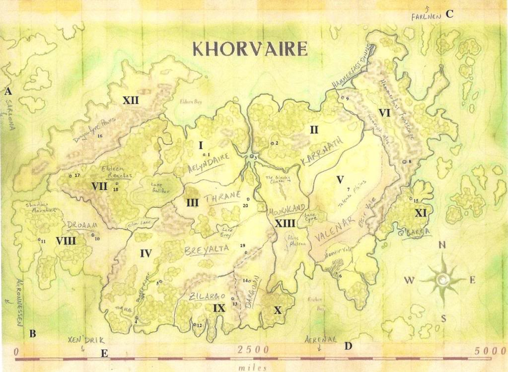 Khorvaire Is One Continent On Eberron That Has Endured The Reign Of Demons  To The Last War Of The Five Nations. Through A History Of Hardship, The  Residents ...