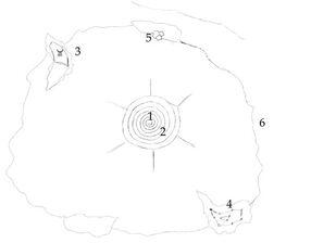 Карта Мунталана, набросок