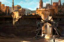 Desert gate by flaviobolla d2qtfen-fullview