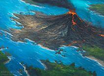 Volcanic island by noahbradley d4xfdke-fullview