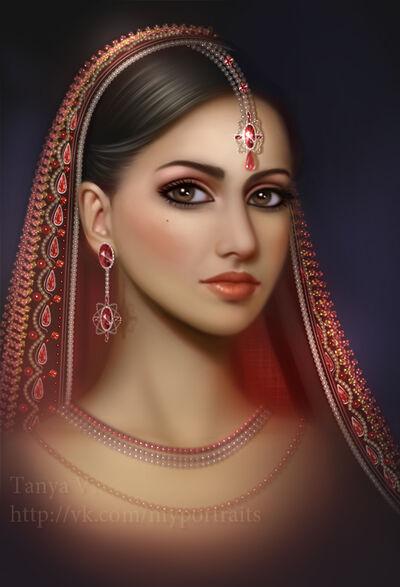 Индийская-девушка-на-форум