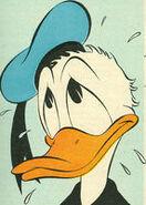 Kalle Anka, tecknad av Jack Bradbury 1953