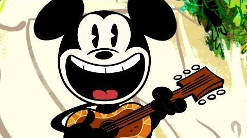 Ku'u Lei Melody A Mickey Mouse Cartoon Disney Shorts