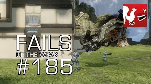 Fails of the Weak - Funny Halo Bloopers and Screw Ups! - Volume 185