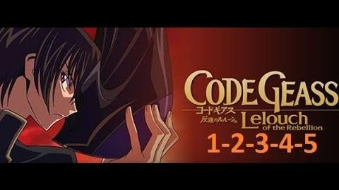 Code Geass - Season 1 - EP 1-2-3-4-5 English Dubbed Full HD