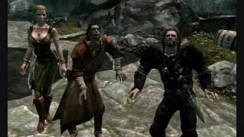 Skyrim - Brynjolf and Marcurio Dance Video