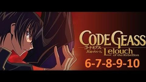 Code Geass - Season 1 - EP 6-7-8-9-10 English Dubbed Full HD