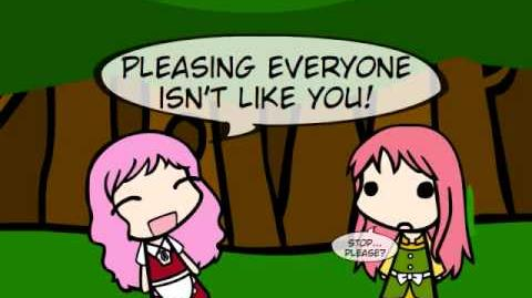 Yuuka and Pinkie can't decide.