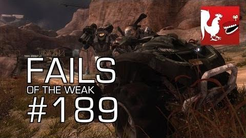 Fails of the Weak - Funny Halo Bloopers and Screw Ups! - Volume 189