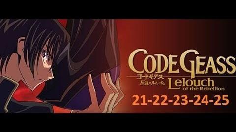 Code Geass - Season 1 - EP 21-22-23-24-25 English Dubbed Full HD