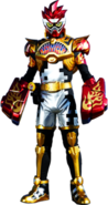 Kamen Rider Para-Dx Knock Out Fighter Level 50