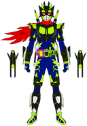 Kamen Rider Snipe Bang Bang Galaxy Level 99