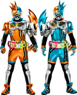 Ex-Aid Brothers XX Gamer level X