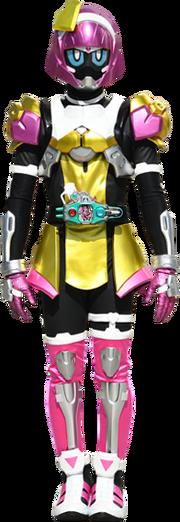 Kamen Rider Poppy blue eyes version