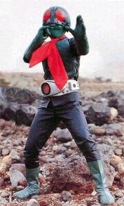 Kamen Rider 1 (Sakurajima)