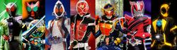 All Neo Heisei Riders