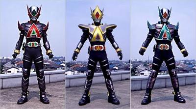 Kamen Riders Larc Glaive Lance