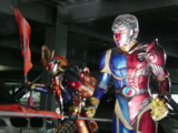 The Red and Blue Kikaider