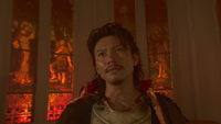 Nobunaga before dying