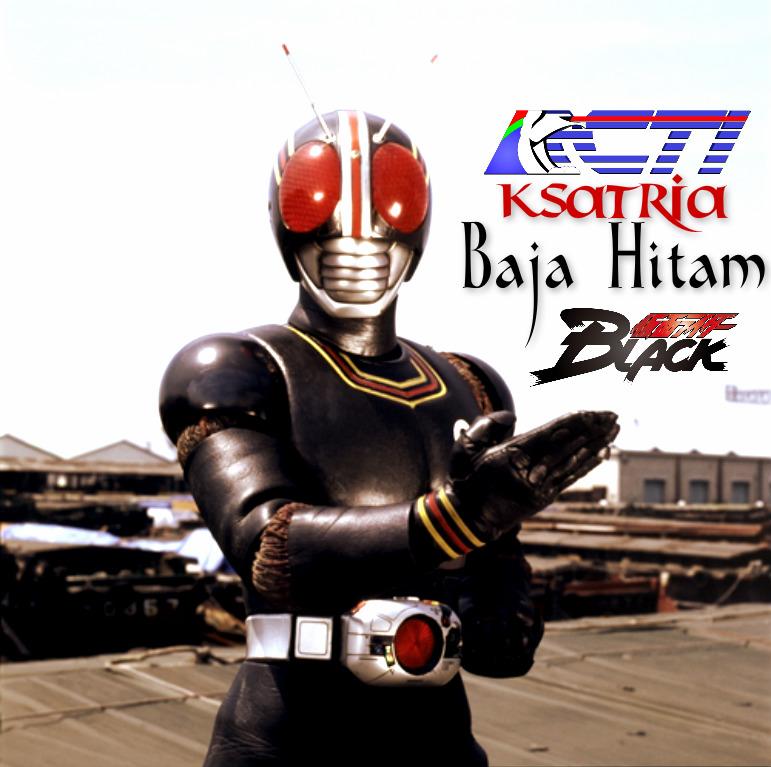 Ksatria Baja Hitam (Kamen Rider Black Indonesia song) | Kamen Rider