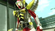 Kamen Rider Baron intro in Battride War Genesis