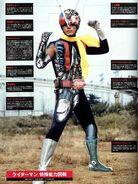 Riderman Suit anatomy