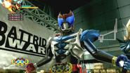Kamen Rider Kiva Garulu Form in Battride War Genesis