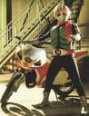Masked Rider Warrior Leader