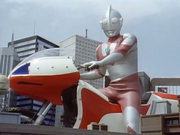 Ultraman on Cyclone