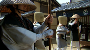 Libra Komusō disguise