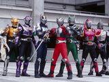 13 Kamen Riders