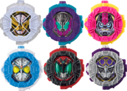 All Fourth Riders Solo Ridewatches
