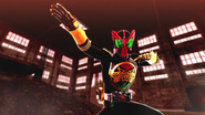 Kamen Rider OOO intro in Battride War Genesis