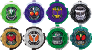 All Third Riders Solo Ridewatches