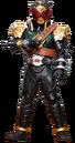 KR Zi-O Kamen Rider Barx
