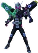 Kamen Rider Zi-O W Armor in City Wars