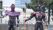 FinalAttackRide Kabuto Hyper Rider Shooting