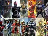 Kamen Riders' Super Forms