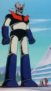 Mazinger Z Anime 1974