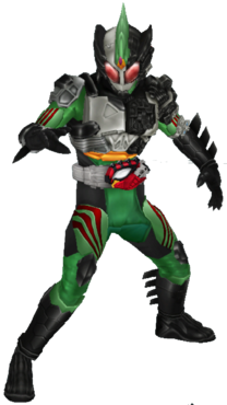Kamen Rider Amazons New Omega in City Wars