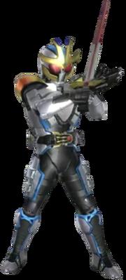 Kamen Rider Ixa in Battride War Genesis